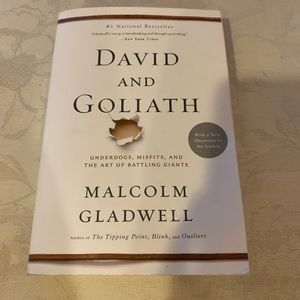 Other - David and Goliath by Malcolm Gladwell book